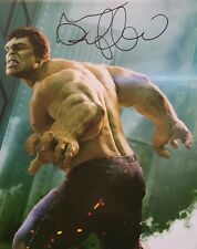 Mark Ruffalo The Incredible Hulk Marvel Avengers Signed Autographed Canvas Photo