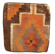 4 pillows mats flatweave wool handwoven tribal