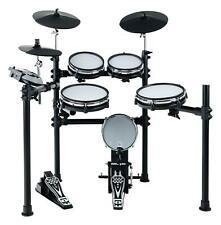 Digital E-Drum Set Elektronisches Schlagzeug Drumkit Rack Mesh Heads USB MIDI