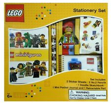 LEGO STATIONERY GIFT SET - BRAND NEW SCHOOL OFFICE - PEN, PENCILS, STICKERS