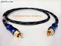 E03 (0.3m 1ft) --- Digital Coax 75Ω RCA/Phono(male to male) 4N-OFC Audio Cable