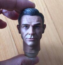 █ Custom 007 Sean Connery James Bond 1/6 Head Sculpt for Hot Toys Body █