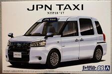 2017 Toyota JPN Taxi NTP10 JDM 1:24 Aoshima 057124