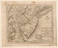 Philadelphia & part of New Jersey, New York, Staten Island|1776 American Revolut
