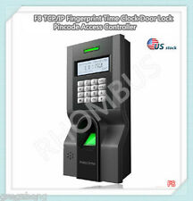 F8 TCP/IP Fingerprint Time Clock Door Lock Pincode Access Controller
