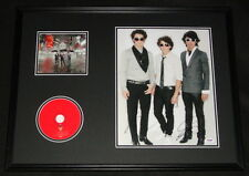 The Jonas Brothers Signed Framed 16x20 CD & Photo Poster Display PSA/DNA