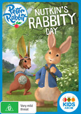 Peter Rabbit Nutkin's Rabbity Day DVD new & sealed R4