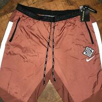 Nike Running Pants Phenom Elite Wild Red CU5730-652 Mens Size XL