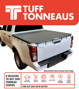 Tuff Bunji Ute Tonneau Cover for Ssangyong Actyon Dual Cab May 2007 to July2018