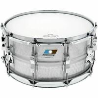 "Ludwig LM405K Acrolite Hammered Aluminum Shell Snare Drum w/ Twin Lugs, 6.5""x14"""