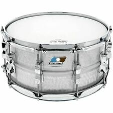 """Ludwig LM405K Acrolite Hammered Aluminum Shell Snare Drum w/ Twin Lugs, 6.5""""x14"""""""