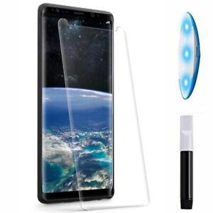 Pellicola schermo vetro FULL GLUE colla luce UV Samsung Galaxy Note9 SM-N960F