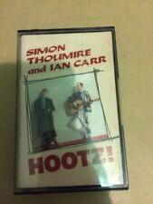 SIMON THOUMIRE & IAN CARR - HOOTZ ! - FOLK  CASSETTE BLACK CROW RECORDS