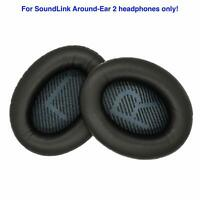 Replacement Ear Cushions for Bose SoundLink Around-Ear 2 AE2 Headphones BLACK