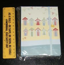 Beach huts Seaside Journal Small Notebook Blank Diary Lined pages