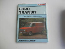 FORD TRANSIT 80 100 120 130 160 175 190 1978-85  Autodata Manual New Old Stock