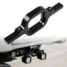 Tow Hitch Mounting Bracket Off-Road Dual LED Truck Trailer Reverse Lamp Holder