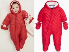 Next Overall Schneeanzug Jacke Red 9-12 Monate 80cm 16e