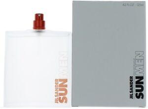 Sun by Jil Sander for Men EDT Cologne Spray 4.2 oz.-Tester NEW
