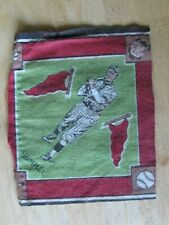 1914 ADVERTISING ITEM FELT PATCH US BASEBALL BROOKLYN PLAYER HUMMEL