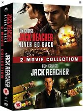 Jack Reacher: 2-Movie Collection - Tom Cruise - Never Go Back - 2 DVDs - NEW