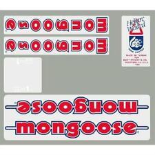 1986 M1 Mongoose decal set - Blue or Chrome frame