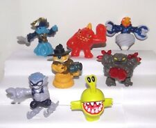 McDonald Toys 2014 SKYLANDERS~Swap Force~Almost Complete Set (7 out of 8 Toys)