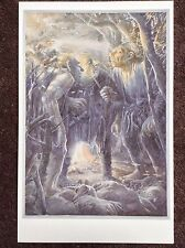 Hobbit Rare Print Fantasy Art Alan Lee Lord Of The Rings Tolkien The Trolls 1997