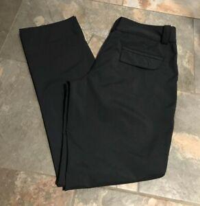 NIKE GOLF Black Pants Slacks Sz 6 Dri-Fit Performance Womens