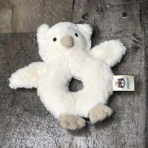 JELLYCAT London Bashful Owl Stuffed Plush baby newborn boy girl rattle gift