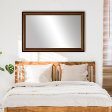 Framed Wall Mirror in Bronze Finish - Oxford Collection