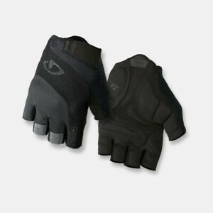 Giro Bravo Gel Men's Road Cycling Gloves - Mono Black  X-Large