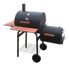 Large CharGriller Smoker Charcoal Barbecue with Fire Box BBQ