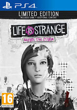 Life Is Strange Before The Storm Limited Edition PlayStation 4 Ps4