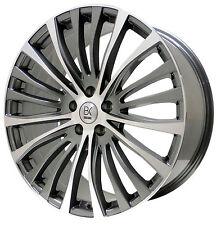 "Gun Metal T5 T6 VW Alloy Wheels Tyres 20"" 5x120 25535 20 VW Van Kombi Camper"