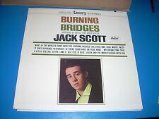 JACK SCOTT Burning Bridges LP Capitol ST 2035 rainbow A1 1st press NM