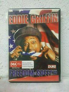 Eddie Griffin - Freedom Of Speech DVD 2008 - Live Stand Up Comedy ATLANTA RARE