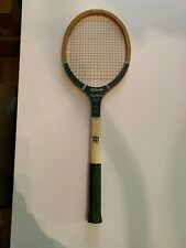 Vintage Mary Hardwick Wooden Wilson Flight Tennis Racket