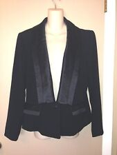 BADGLEY MISCHKA BLACK LADIES JACKET SIZE 14 NEW.