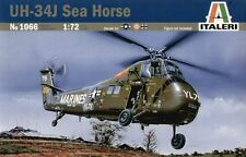 Italeri 1066 1/72 Scale Model Military Helicopter Kit Sikorsky UH-34J Sea Horse