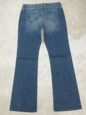 Big Star Womens Jeans ACE Low Bootcut Distressed Wash Sz 27