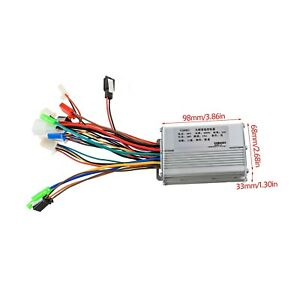 36V 350W Brushless Motor Speed Controller for Electric Bicycle E Bike Scooter