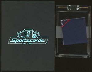 2001 Sport Cards Tom Brady New England Patriots Game Jersey Swatch w/ Box