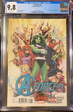 A-Force #1 CGC 9.8 1st Appearance SINGULARITY -All-Female Avengers