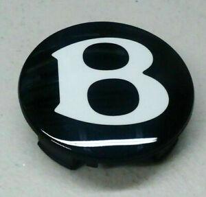 """Bentley Genuine """"B"""" Center Cap OEM part # 3W0601170F. NEW. BENTLEY WHEEL CAPS"""