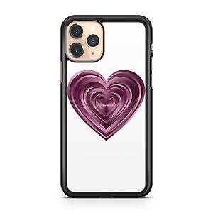 Phenomenal Luscious Pretty Elegant Delightful Purple Love Heart Phone Case Cover