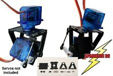 FPV fibra di vetro PAN-TILT Fotocamera Mount System CON MOTORE BRUSHLESS SMALL-UK Venditore