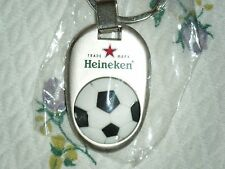 HEINEKEN - SOCCER - KEY RING - KEY CHAIN - NEW - WORLD CUP - FREE SHIPPING !!!!!