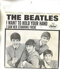 Beatles I Want To Hold Your Hand/I Saw Her Standing There Capitol Picture Sleeve