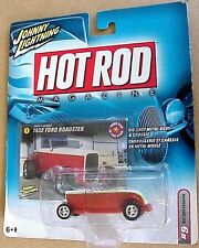 Johnny Lightning Hot Rod Magazine series 1932 Ford Roadster red & white